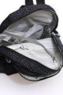Smart Bags Kadın Siyah Puantiyeli Küçük Sırt Çantası Smbk1030-0091