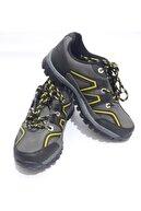 Gezer Unisex Füme Sarı Çizgili Kışlık Kaydırmaz Ayakkabı Bot