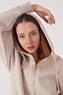 Addax Kadın Taş Sweatshirt H9520 - K9 ADX-0000023663