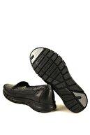 Forelli Kadın Siyah Hakiki Deri  Comfort Ayakkabı 29423
