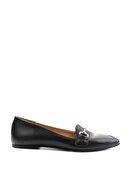 Bambi Siyah Kadın Loafer Ayakkabı M05320010
