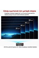 exeo Rd-814 Mini Taşınabilir Multimedya LED Projeksiyon Cihazı