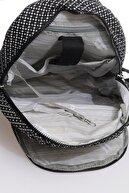 Smart Bags Smbky1187-0127 Siyah/beyaz Kadın Sırt Çantası
