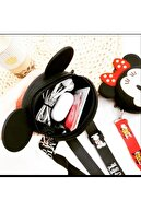 MİSSİNG Kız Çocuk Silikon Mickey Mouse Tasarım Omuz Çanta