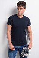 Rodi Jeans Rodi Rd19ye279976 Lacivert Erkek Lyrca Süprem Bis. Yaka T-shirt