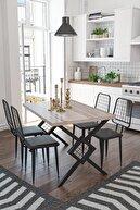 Wood House Berlingo Yemek Masası Takımı - Cordoba