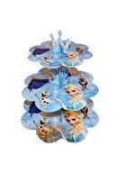 Çarşı Frozen Cupcake Standı 3 Katlı