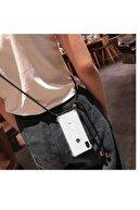 Atalay Xiaomi Redmi Note 8 Ip Boyun Askılı Siyah Şeyma Kılıf