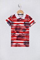US Polo Assn Kirmizi Erkek Çocuk T-Shirt