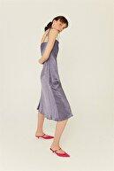 Rue Indigo Degaje Yaka Askılı Elbise