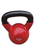 Delta 8 Kg. Çaydanlık Tipi Kırmızı Demir Dambıl - Kettlebell
