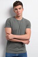 Rodi Jeans Rodi Rd19ye279976 Haki Erkek Lyrca Süprem Bis. Yaka T-shirt