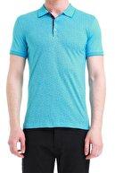 Efor Ts 736 Slim Fit Turkuaz Spor T-shirt