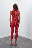 Join Us Çiçek Desenli Multi Triko Pantolon - Multi