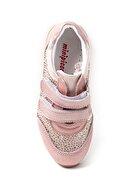 Minipicco Kız Çocuk Pudra Deri Ortopedik Ayakkabı
