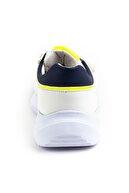 Minipicco Erkek Çocuk Beyaz Ortopedik Spor Ayakkabı