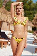 Pierre Cardin Fırfır Detaylı Bikini Takımı 201221