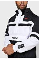 Nike Air Woven Half-zip Hoodie Erkek Kapüşonlu Ceket