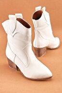 Bambi Beyaz Kadın Bot & Bootie K0678190809