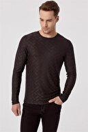 Efor Ts 777 Slim Fit Siyah Spor T-shirt