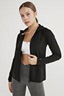 Penti Kadın Siyah Performer Sweatshirt