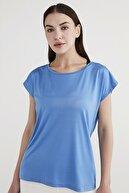 Penti Kadın Mavi Performer Tişört