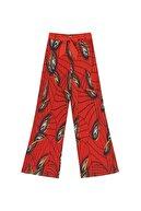 İpekyol Yüksek Bel Desenli Pantolon
