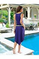 Derya Kurşun Sıfır Kol Kadın Elbise 955 - Katalog Rengi, S/m