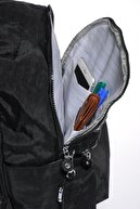 Smart Bags Smb1234-0001 Siyah Kadın Sırt Çantası
