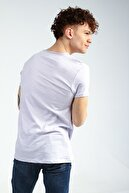 Collezione Lila Erkek Tarçın Sıfır Pis Yaka Spor Regular Kısa Kol T-shirt