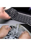 Mcstorey Macbook Air Pro Klavye Koruyucu Silikon 13inc 15-17inc Ingilizce Klavye Ustipli A1466 Dazzle 1006
