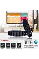 """TELENOVA 75S4K8001/20 75"""" 190 Ekran Uydu Alıcılı 4K Ultra HD Smart LED TV"""