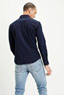 Levi's Erkek  Lavivert Slim Fit Düz Yaka Pamuklu Gömlek 866190018
