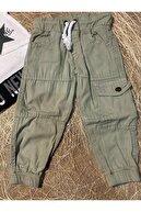 Sisero Yıldız Baskılı Haki Pantolonlu 2'li Takım