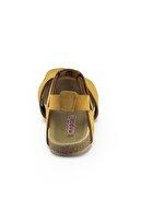 Minipicco Unisex Çocuk Cat Deri Ortopedik Sandalet