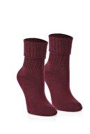 nettofit 6'lı Kadın Yünlü Uyku Çorabı Soft Touch