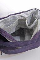 Smart Bags Smbky1205-0027 Mor Kadın Omuz Ve Sırt Çantası