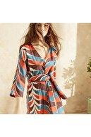 Yargıcı Kadın Kuşaklı Elbise