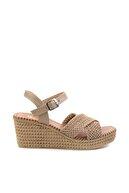 Bambi Vizon Kadın Dolgu Topuklu Ayakkabı K05688015016