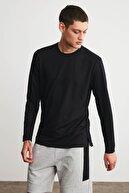 GRIMELANGE HUMMER Erkek Siyah Uzun Kollu Spor T-shirt