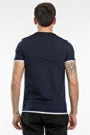 Slazenger Massıve Erkek T-shirt Lacivert St11te154
