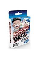 Monopoly Hasbro Gaming Deal E3113 Kart Oyunu Lisanslı Orjinal Ürün Po5010993555093