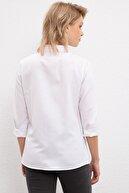 US Polo Assn Kadın Beyaz Gömlek G082gl004.000.1177173
