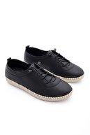 Marjin Kadın Siyah Hakiki Deri Comfort Ayakkabı Ritok