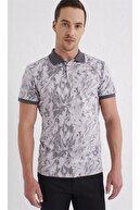 Efor Ts 763 Slim Fit Bej Spor T-shirt