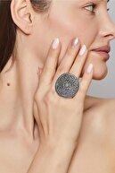 ZeyDor Accessories Zeydor Antik Gümüş Kaplama Işlemeli Yüzük