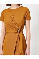 Koton Kadın Beli Bağlamalı Elbise
