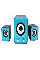 Nivagatore Speaker Ekstra Bass Hoparlör Ses Sistemi 2+1 Pc Bilgisayar