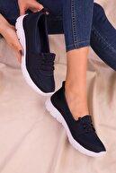 Soho Exclusive Lacivert Kadın Sneaker 15774