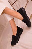 Soho Exclusive Siyah-Siyah Kadın Sneaker 15774